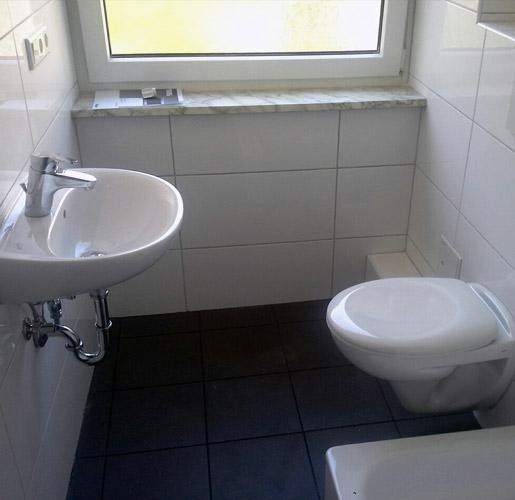 B&B Hermes GmbH Wohnungssanierung Beispiel WC